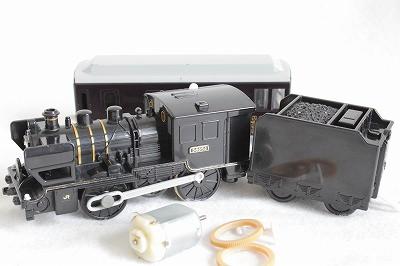 8620形蒸気機関車SL人吉号の修理-モーターの交換