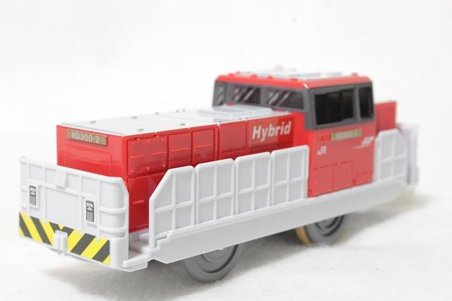 貨物電車K-02-HD300ハイブリッド機関車