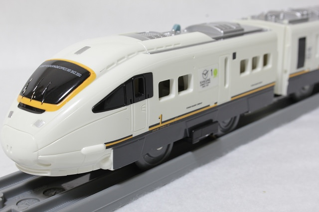 JR九州白い「かもめ」-プラレールS-18