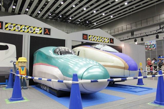 プラレール博in札幌-E5系はやぶさ E7系かがやき