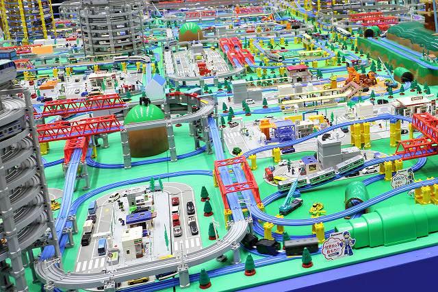 プラレール博in札幌 巨大ジオラマ